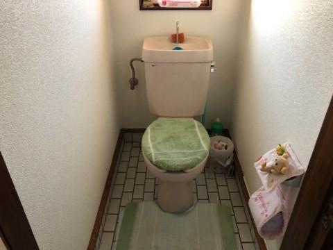 2019年12月 岬町M様邸トイレ入替工事