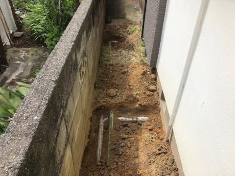 2019年4月 阪南市N様邸 排水管及び会所改修工事
