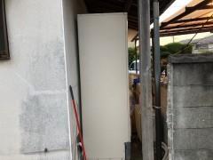 2020年8月 阪南市I様邸給湯器からエコキュートに取替工事3