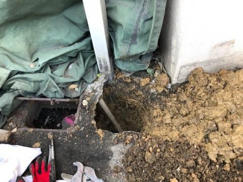 2020年5月 阪南市W様邸漏水修理工事3