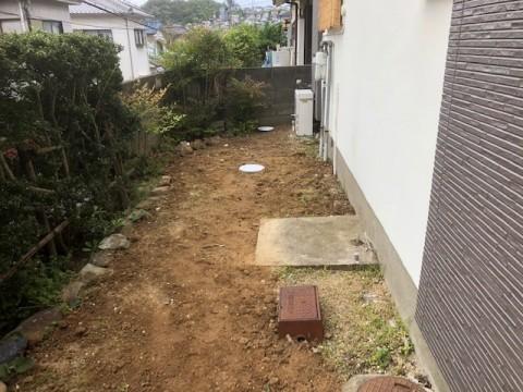 2019年4月 阪南市N様邸 排水管及び会所改修工事3