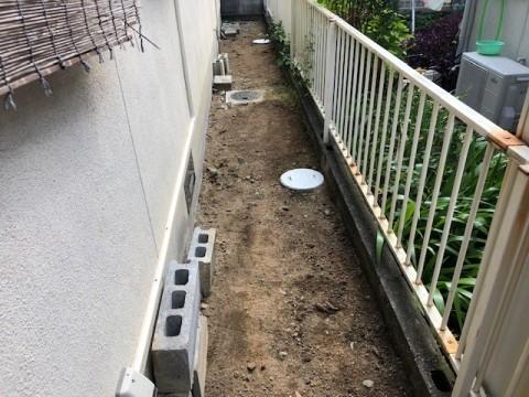 2019年7月 阪南市K様邸 会所改修工事4