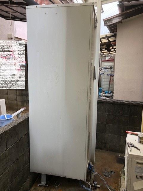 2019年2月 阪南市A様邸 電気温水器からエコキュートに取り替え