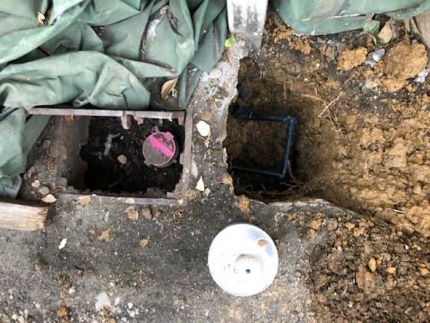 2020年5月 阪南市W様邸漏水修理工事